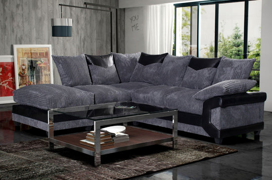 Dunoon Left Hand Facing Corner Group Sofa (Available in 2 Colours)