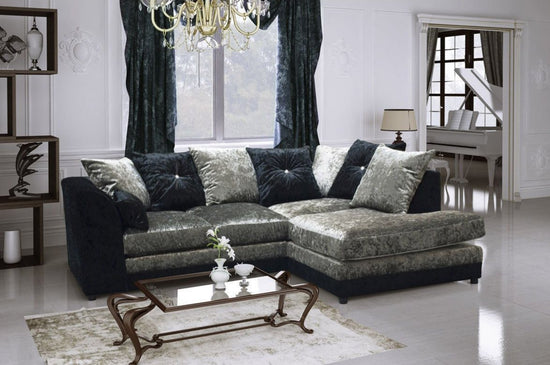 Bute Right Hand Facing Corner Group Sofa (Available in 2 Colours)