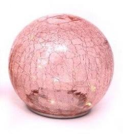 Crackle Glass LED Dome - Available in Different Colours-Chair-Jaspers of Hinckley Ltd.