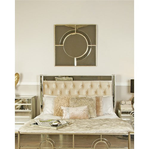 Gatsby Antique Wall Mirror - Gold