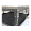 Industrial Style Coffee Table - Metal / Dark Grey-Livingroom Furniture-Jaspers of Hinckley Ltd.