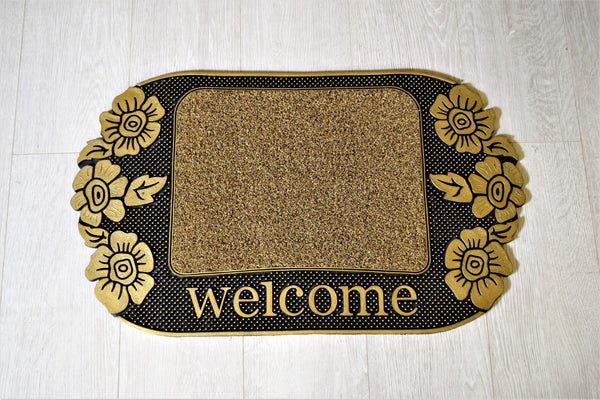 Mattex Madeira Welcome Doormat - 75cm x 45cm (Available in 2 Colours)-Rug-Jaspers of Hinckley Ltd.