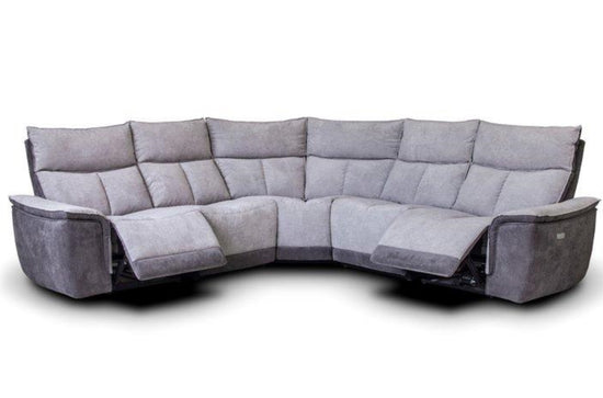 St Tropez 2C2 Power Recliner Cornergroup Sofa