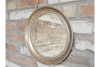 Round Rustic Mirror on Hanging Chain - Bronze-Chair-Jaspers of Hinckley Ltd.