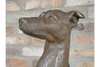 Sitting Dog Ornament - Rustic Brown-Chair-Jaspers of Hinckley Ltd.