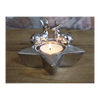 Stag Candle Holder - Silver-Chair-Jaspers of Hinckley Ltd.