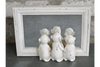 Three Monkeys Mirror - White-Chair-Jaspers of Hinckley Ltd.