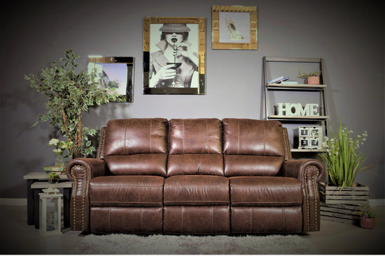 Toulouse 3 Seater Electric Recliner