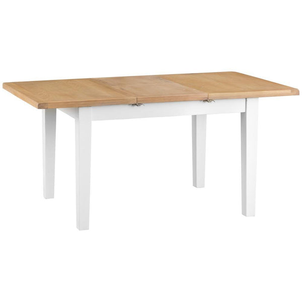 Trentham Collection - 1.6m Butterfly Table - Oak - Available in White or Grey-Dining Furniture-Jaspers of Hinckley Ltd.