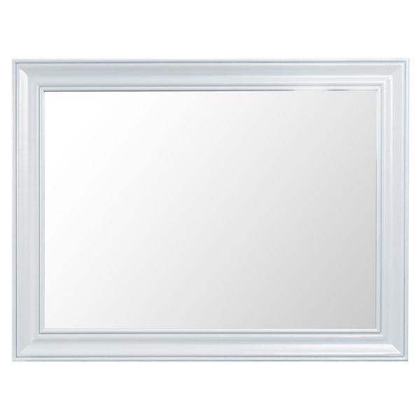 Trentham Collection - Large Wall Mirror - Oak - Available in White or Grey-Livingroom Furniture-Jaspers of Hinckley Ltd.