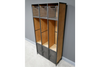 Vintage Style Hall Stand - Grey / Wooden-Bedroom Furniture-Jaspers of Hinckley Ltd.