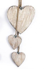Wooden Carved Hanging Hearts-Chair-Jaspers of Hinckley Ltd.