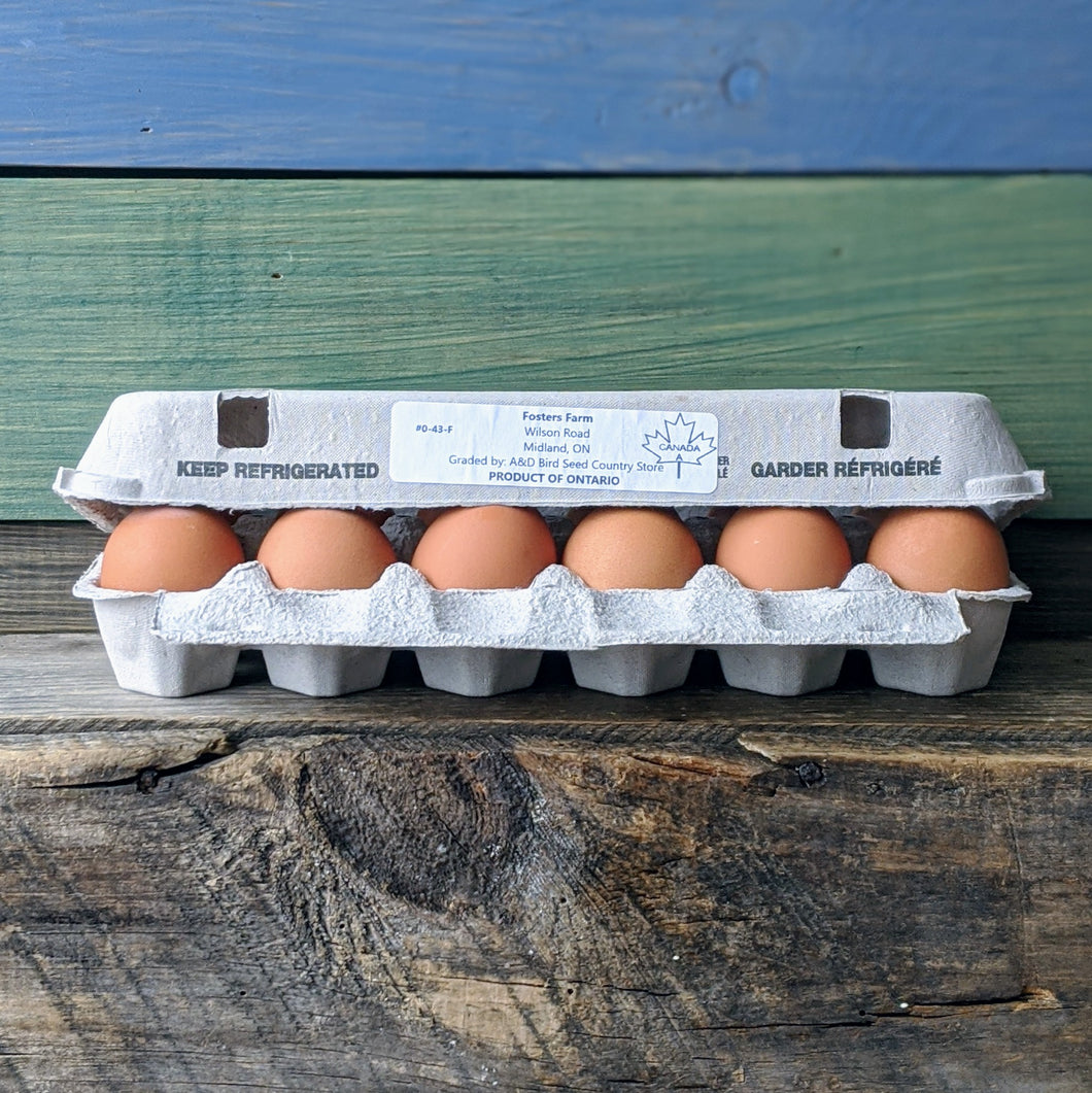 Foster's Farm Fresh Eggs