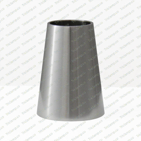 Weld Concentric Reducer, stainless steel 304