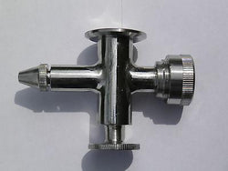 Sight Level Valve Lower w/Drain Stainless Steel SS304 Tri Clamp