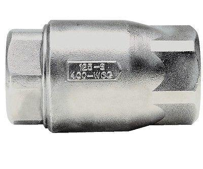 "Apollo Valves, 1"" Stainless Steel Ball-Cone, In Line Check Valve"