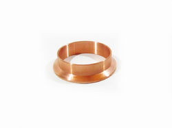 "2"" Copper Tri Clamp Weld Ferrule, Dairy Tri Clover Reflux Column, Not Stainless"