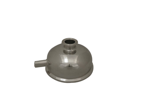 "Bowl Reducer | Tri Clamp 3"" x 1.5"" x Female NPT 1/4"""
