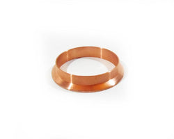 "4"" Copper Tri Clamp Weld Ferrule, Dairy Tri Clover Reflux Column, Not Stainless"