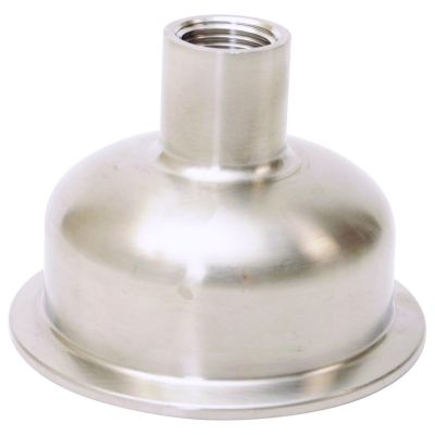 "Bowl Reducer | Tri Clamp 3"" x Female NPT 1/2"""