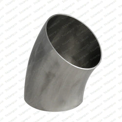 "6"" Weld Elbow 45°, Stainless Steel 304, Sanitary, Tubing, Fitting, Polished"