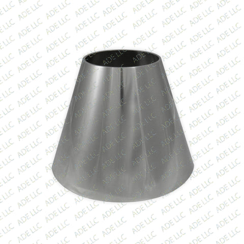 "Weld Concentric 8"" x 4"" Reducer Stainless Steel 304"