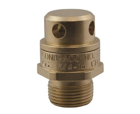 "1/2"" Model VR Brass Vacuum Relief Valve"