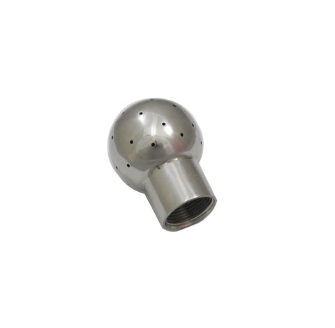 "Fixed CIP Spray Ball with 1"" Female NPT and 2.5"" Ball"