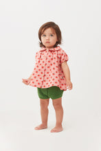 Load image into Gallery viewer, Short Sleeve Blouse - Tomato Print (LAST ONE 6Y)