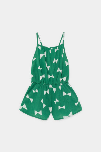 All Over Bow Woven Playsuit
