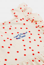 Load image into Gallery viewer, Dots Jersey Ruffle Dress