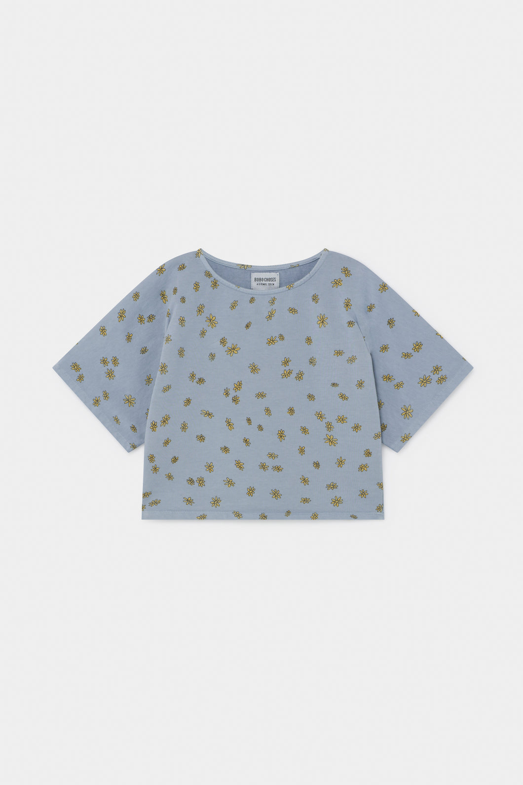 All Over Daisy Cropped Sweatshirt (LAST ONE 8/9y)