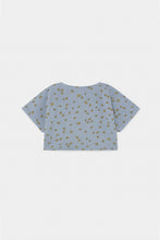 Load image into Gallery viewer, All Over Daisy Cropped Sweatshirt (LAST ONE 8/9y)