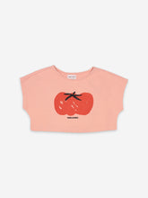 Load image into Gallery viewer, Tomato Cropped Sweatshirt