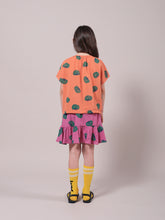 Load image into Gallery viewer, Tomatoes All Over Ruffle Mini Skirt