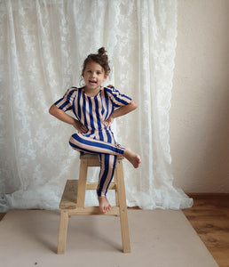 Blue Stripe Legging (LAST ONE 1-2Y)