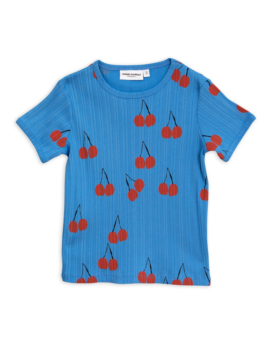 Blue Cherry Short Sleeve Tee