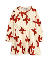 Load image into Gallery viewer, Flying Birds Long Sleeve Dress