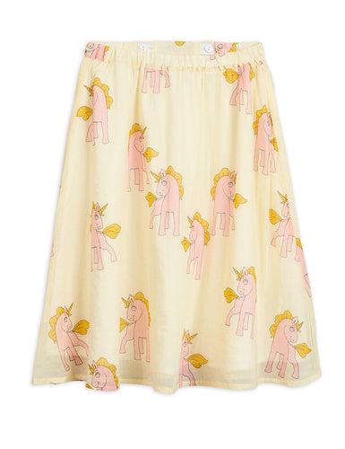 Unicorns Woven Long Skirt