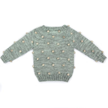 Viola Sweater - Celadon/Natural