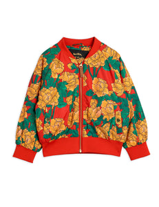 Peonies Baseball Jacket
