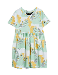Unicorn Noodles Dress (Green)