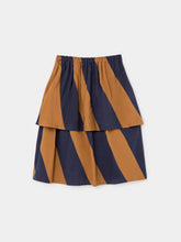 Big Stripes Midi Skirt