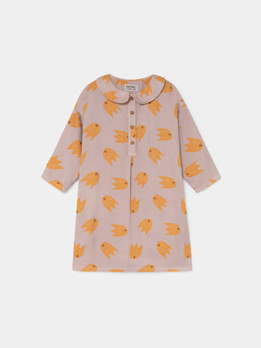 All Over Comets Buttons Dress