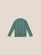 Load image into Gallery viewer, Umbrella All Over Turtle Neck T-Shirt