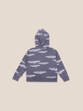 Load image into Gallery viewer, Clouds All Over Zipped Hoodie