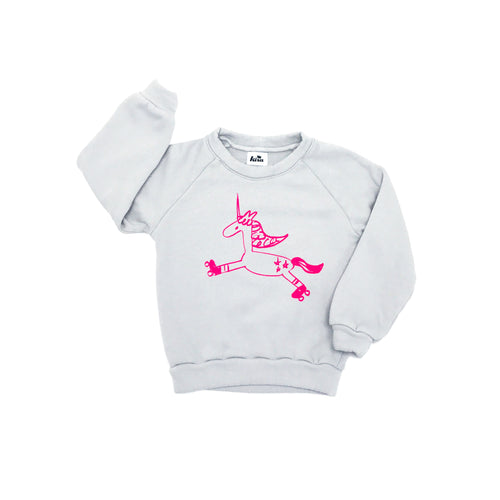 Unicorn Raglan Sweatshirt (LAST ONE 12/18mo)