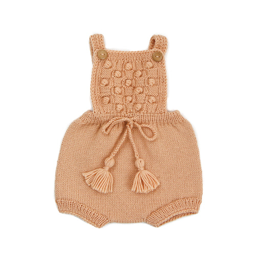 Ravena Romper - Peach (ONLY 6/12 and 18/24mo)