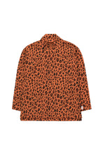 Load image into Gallery viewer, Animal Print Mock Neck Tee