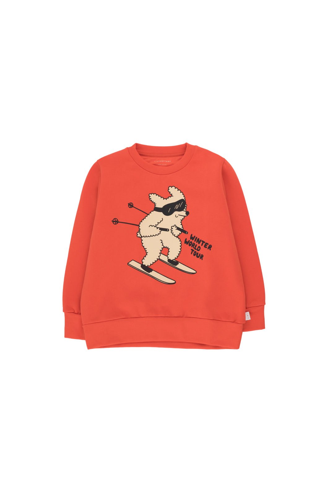 Skiing Dog Sweatshirt